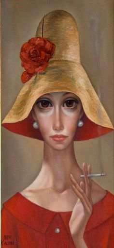 Margaret Keane (born 1927) is an American artist. She is an illustrator and pa...