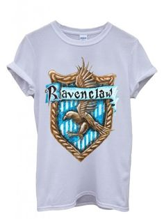 Ravenclaw House Harry Potter Unisex T-Shirt - with the correct EAGLE image in stead of the Raven.