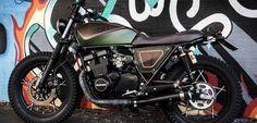 Una de motos scrambler - Trail & Scrambler