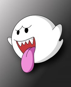 How To Draw Boo Mario Ghost