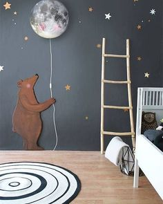 adorable kids bedroom walls // cactus and co