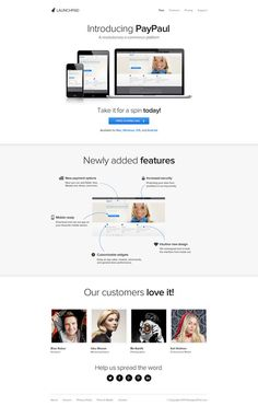 Launchpad – Product/Service Launch PSD Template - http://www.welovesolo.com/launchpad-productservice-launch-psd-template/