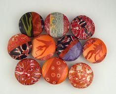 https://flic.kr/p/7VH1YP | polymer clay beads