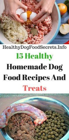 We all know that healthy meals are important for our dog hence we always strive to give our puppy the best. For you dog owners in my little way l have compiled here 15 healthy homemade dog food recipes and treats. The best thing a Dog Biscuit Recipes, Dog Treat Recipes, Healthy Dog Treats, Dog Food Recipes, Healthy Recipes, Healthy Meals, Doggie Treats, Food Dog, Make Dog Food