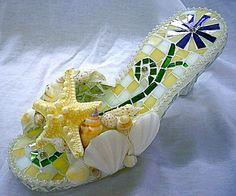 Seashell shoe.