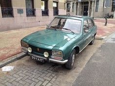 Peugeot 504, The Netherlands by André Vondran Street Photography