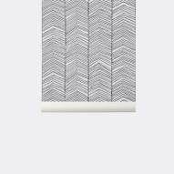 Ferm Living : Herringbone Wallpaper