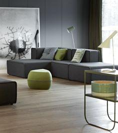 Soffa i filt från Bo Concept.