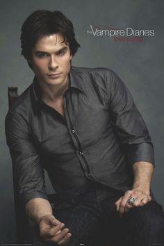 vampire diaries damon | Vampire Diaries - Damon Chair Affiches sur AllPosters.fr