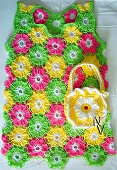 Flowers (free pattern)...I love this!