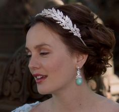 Blair Waldorf's Head Band with Rhinestones from Gossip Girl: New York, I Love You XOXO #ShopTheShows #curvio