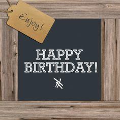 Verjaardagskaarten - Wood Birthday Words, Happy Birthday Celebration, Happy Birthday Friend, Very Happy Birthday, Happy Birthday Quotes, Happy Birthday Images, Happy Birthday Greetings, Birthday Love, Birthday Messages
