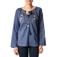 Rafblauw Tuniek/blouse van Gypset Style