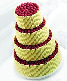 Purita Hyam chocolate wedding cake