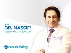 CoolSculpting is partnering with celebrity plastic surgeon from the hit reality TV series Botched, Paul Nassif, MD, FAC! Paul Nassif, Cool Sculpting, Body Contouring, Reality Tv, Plastic Surgery, Fat, Medical, Tv Series, Celebrities