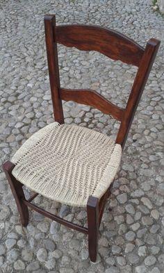 Cadira cordada ~ espina de peix