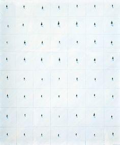 Kristian Krokfors: Metsä, 1979, öljy kankaalle, 115x95,5 cm - Bukoaskis Modern & Contemporary F160
