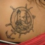 Nautical tattoo - More tattoo designs available at www.99tattoodesigns.com