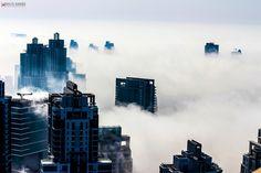 Dubai Fog by Khaled Bakkora Photography on 500px
