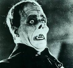 Lon Chaney, el hombre de las mil caras, como fantasma de la ópera