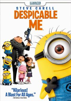 Despicable Me on DVD  $4.99