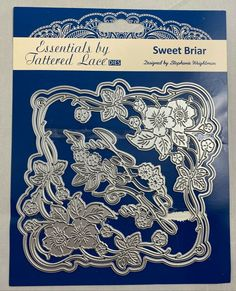 Tattered Lace Cutting Die Sweet Briar Just For You Foliage Frame ETL446 #TatteredLace Selling On Ebay, My Ebay, Just For You, Lace, Sweet, Candy, Racing