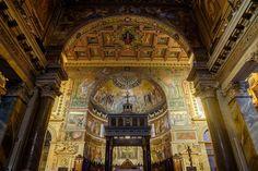 Rome - Rione XIII Trastevere - Santa Maria in Trastevere   da bautisterias
