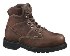 Wolverine DuraShocks Tremor Slip Resistant Work Boots for Men - 11.5 XW