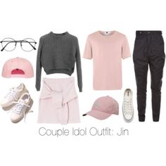 Couple Idol Outfit: Jin