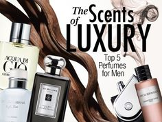 TOP LUXURY SCENTS OF 2013 FOR MEN