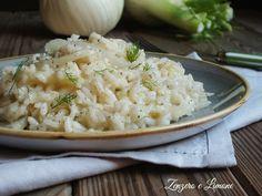 Il risotto con i finocchi è un piatto vegetariano davvero buono, cremoso ed estremamente delicato che si prepara senza alcuna difficoltà.