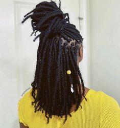 Black Girls Hairstyles, Twist Hairstyles, Starting Dreads, Natural Hair Care, Natural Hair Styles, Hair Inspo, Hair Inspiration, Locs, Sisterlocks