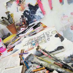 Line Juhl Hansen: painting