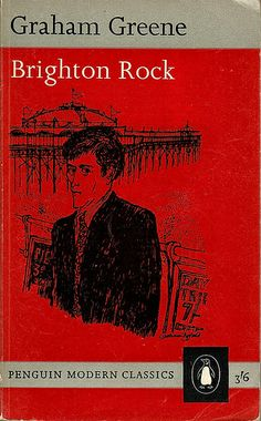 1963 reprint -- cover drawing by Graham Byfield. I've never seen this edition of Brighton Rock