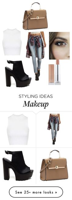 """""""Untitled #45"""" by cassidysimeons on Polyvore featuring Charlotte Russe and Topshop"""