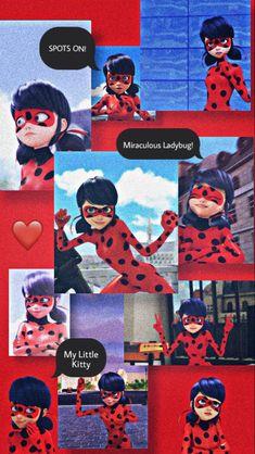 Ladybug And Cat Noir, Meraculous Ladybug, Ladybug Comics, Cute Disney Wallpaper, Wallpaper Iphone Cute, Cartoon Wallpaper, Lady Bug, Les Miraculous, E Skate