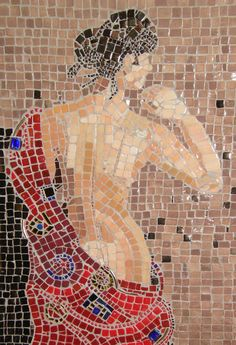 """Beloved Lady"" by Patty Franklin mosaics"
