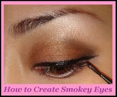 Hollywood Fashion | Bridals | Actresses | Fashion News | Celebrties: How to create Smokey Eyes