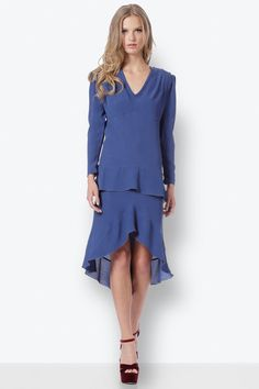 High Low, Cold Shoulder Dress, Dresses, Fashion, Gowns, Moda, La Mode, Dress, Fasion