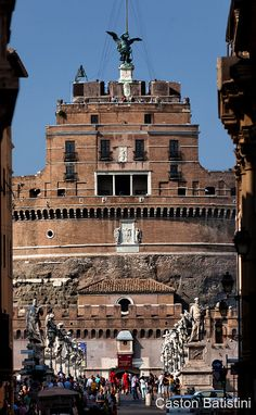 Castel Sant'Angelo, Roma , Italia   by Gaston Batistini Thks for 7.5 million views :) !