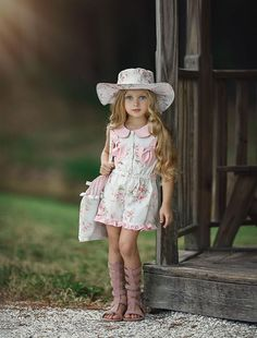 This adorable floral hat is made to match our Alisha Romper and Pick Of The Bunch Dress. Model age four wearing size M. Girls Dresses, Flower Girl Dresses, Ruffled Dresses, Flower Girls, Off White Dresses, Super Cute Dresses, Layered Skirt, Floral Romper, Cute Pink