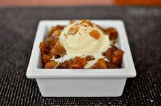 Dessert Applesauce With Gala Apples, Lemon Zest, Maple Syrup, Brown Sugar…