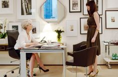 Vogue offices as portrayed in The Devil Wears Prada