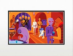 Disney-Parks-Star-Wars-Cantina-Right-Side-Deluxe-Print-by-Shag..