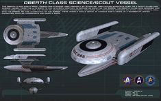 Oberth class science/scout ortho [New] by unusualsuspex.deviantart.com on @DeviantArt