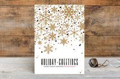 Sophisticated Snow by Pistols at minted.com