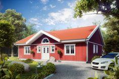 Auf 111qm ist Platz für die ganze Familie. Der Bungalow Ulf Svenssen.