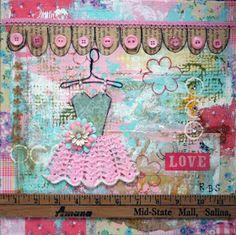 "Becca's Dollhouse Art Studio: ""Dolls, Butterflies, and Birds...Oh My!"""