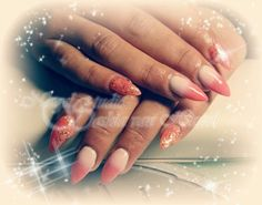 Ombre holiday nails