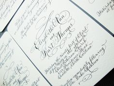 Abigail T. Calligraphy
